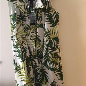 Cold Shoulder Dress with Pockets